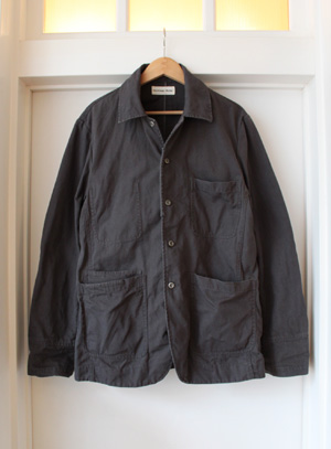 Universal Works ENGLAND DECK CANVAS BAKERS JACKET